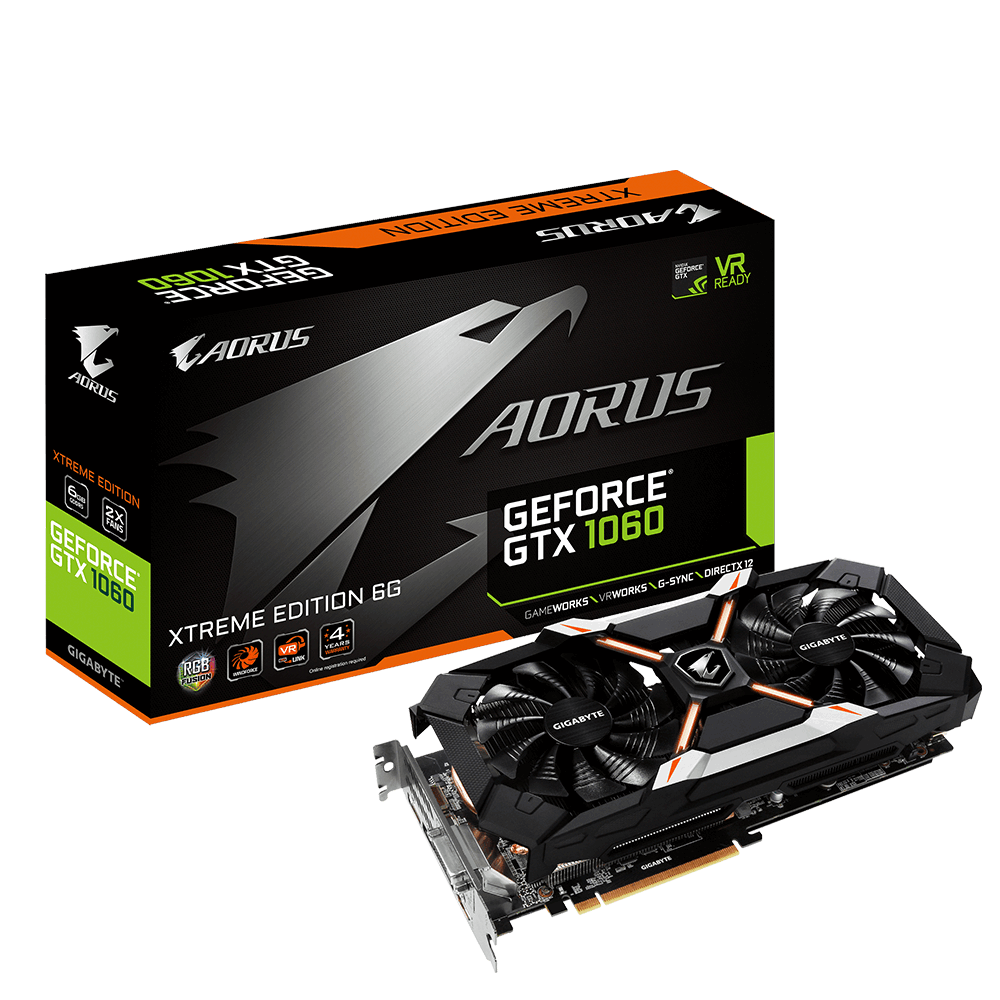 AORUS GeForce® GTX 1060 Xtreme Edition 6G